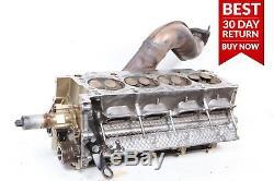 00-06 BMW E53 X5 4.4L V8 Left Side Engine Motor Cylinder Head Valve with Pipe A51