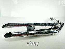 02 Harley FXDWG Dyna Wide Full Exhaust Pipe Muffler Head Header VANCE & HINES