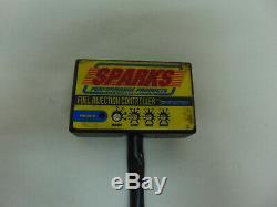 02267 Yamaha Raptor YFM700R Sparks Exhaust System Muffler Head Pipe 2006 06 CF