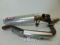 02271 Suzuki LTZ 400 QuadSport Yoshimura Exhaust Muffler Stock Head Pipe 2006 RM