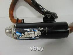 02301 Yamaha Raptor YFM 350 HMF Exhaust System Muffler Head Pipe 09 2009 CF
