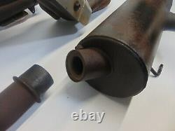 02460 Polaris RZR 4 800 OEM Exhaust Muffler Head Pipe 2010 CF