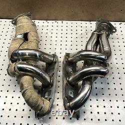03-06 350z 03-07 G35 Coupe Left & Right Exhaust Manifold Headers Heads Pipe Ed