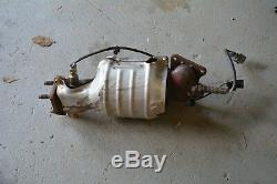 04-08 ACURA TL REAR MANIFOLD EXHAUST OEM PIPE TUBE with O2 SENSOR C5