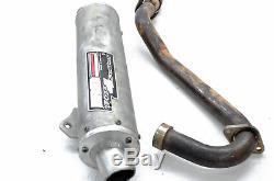 05 Honda TRX450R 2x4 LRD Slip On Exhaust Muffler & Header Head Pipe