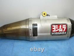 07 08 Yamaha Yz 250f Yz250f Yoshimura Rs-4 Full Exhaust System Head Pipe Muffler