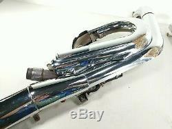 07 Suzuki M109R M109 Full Exhaust Pipe Muffler Head Header