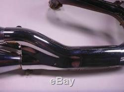 08 Harley Dyna FXDF Fat Bob Full Exhaust Pipe Muffler Head Header Chrome