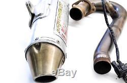08 Kawasaki KFX450R Pro Circuit Full Exhaust Muffler Head Pipe & Dynojet Auto Tu