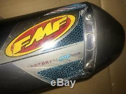 09-11 kawasaki kx-450f fmf factory rct 4.1 blue titanium exhaust and head pipe
