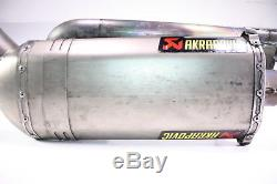 09 KTM RC8 AKRAPOVIC Full Exhaust Pipe Muffler Head Header