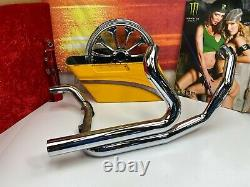 10-16 Harley Touring True Duals Exhaust Header Head Pipes