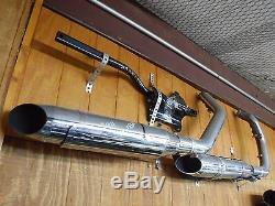 14 15 16 17 Harley Davidson Sportster XL1200 XL883 Exhaust Muffler Head Pipe
