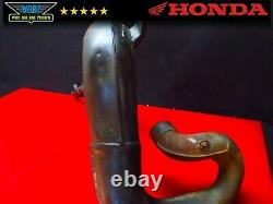 1984 Honda Cr500 Oem Exhaust Head Pipe Header Expansion Chamber