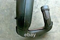 1986 Honda ATC250R Front Exhaust Head Pipe Expansion Chamber OEM