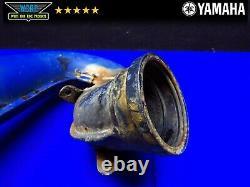 1986 Yamaha Yz 250 Exhaust Head Pipe Expansion Chamber Header 1lu-14610-00-00