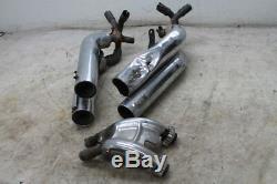 1987 Honda Vf700c Vf 700 Super Magna Exhaust Pipes Mufflers Header Head Pipe