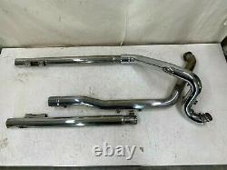 1994 Harley Flh Ultra Classic True Dual Exhaust Header Head Pipe Exhaust System