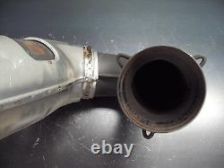 2003 03 Arctic Cat 1M Mountain 900 CC Snowmobile Exhaust Pipe Outtake Head