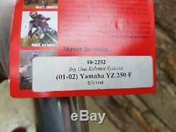 2003 Yamaha Yz250f Big Gun Exhaust Head Pipe Muffler Wr250f Yz250 Yz 250f 250 Wr