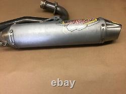 2005-2010 Honda CRF450X PRO CIRCUIT T4 Silencer Head Header Muffler Exhaust Pipe