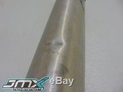 2005 Honda CRF450R Exhaust, Header, Head Pipe, Muffler, OEM J88