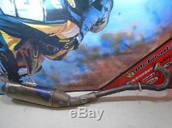 2005 Honda Crf 250r Exhaust Head Pipe Fmf Titanium (e) 05 Crf250