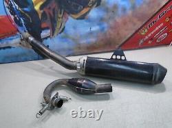2005 Honda Crf 250r Exhaust Head Pipe & Silencer Fmf Mega Bomb (f) 05 Crf250 250