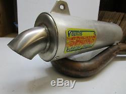 2005 Honda TRX450R Curtis Sparks Full Exhaust TRX 450 xc Head Pipe Muffler