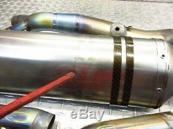2006 04-08 BMW K1200S K1200 OEM Exhaust Muffler Header Head Pipes Assembly