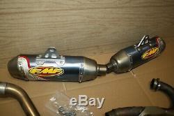 2006 Honda CRF250R FMF Titanium 4.1 Exhaust with OEM Head Pipe