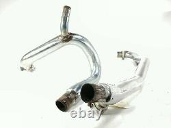 2007 Ducati Sport Classic 1000 Header Head Exhaust Pipes Damage 57011411A