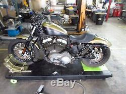 2007 Harley Davidson Sportster XL1200N Nightster Vance & Hines Exhaust Pipe Head