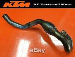 2008 KTM 505 XC-F FMF Megabomb Bomb Exhaust Head Header Pipe Chamber Manifold