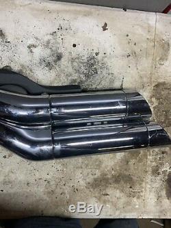 2011-16 XVS1300 1300 STRYKER Yamaha Head Pipe Exhaust Muffler 27D