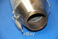 2012 08-17 CRF450X Procircuit RC-4 Head Pipe T-4 Exhaust Silencer Muffler Spark