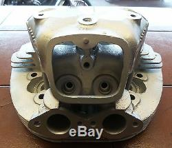 3792 Cylinder Head 650ss Racer Converted To Flange Fitting Exhaust Pipes