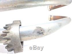 82 Honda Nighthawk CB750SC Right Side Full Exhaust Pipe Muffler Head Header