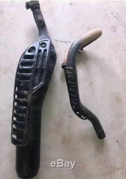 87 Yamaha Bw350 Muffler Headpipe Header Exhaust Head Pipe Bw 350 Big Wheel