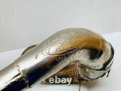 91 Honda CR500 CR 500 FMF Gold Series Fatty Exhaust Header Head Pipe Guard 1991