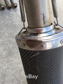 91 Kawasaki Zx750j Zx 7 Indigo Exhaust Muffler With Head Pipe