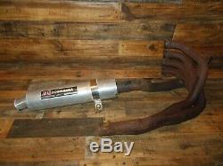 92 HOnda CBR 600 F2 Yoshimura USA exhaust pipe system head pipe silencer muffler