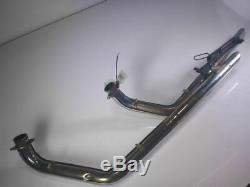 99 Yamaha Roadstar XV1600 COBRA Full Exhaust Pipe Muffler Head Header