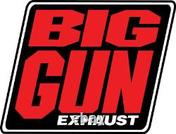 BIG GUN EXO Full Exhaust Head Pipe Muffler Yamaha Raptor 700 700R 2006-2014 NEW