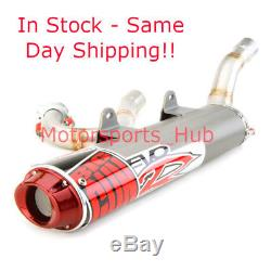 Big Gun EVO R Full Head Exhaust Pipe Muffler Honda TRX 450R TRX450R 2004 2005