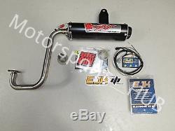 Big Gun EVO U Full Exhaust Head Pipe Muffler Dobeck EJK Polaris RZR 170
