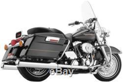 Cobra Exhaust True Dual Head Pipes FLH, FLT CHROME 6250 63-1035 1800-0634