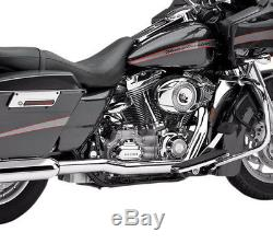 Cobra True Dual Head Pipes for Harley Headers on Touring Dual Exhaust 1995-06