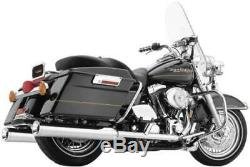 Cobra True Duals Dual Head Pipes Headers Exhaust 07-08 Harley Bagger 6251
