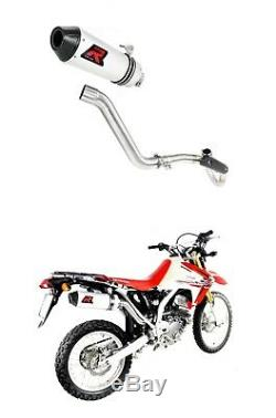 Exhaust MX + HEADER HEAD PIPE DOMINATOR CRF 250 L 12-18 + db killer